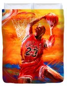 His Airness Duvet Cover by Lourry Legarde