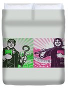 His And Hers Cultural Revolution Duvet Cover