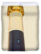 Historic Absecon Lighthouse Duvet Cover