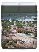 Historic Annapolis Maryland Duvet Cover