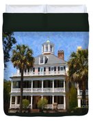 Historic Battery Home Duvet Cover