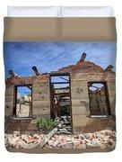 Historic Building Nine Mile Canyon - Utah Duvet Cover