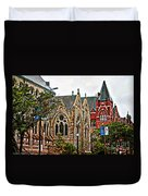 Historic Church St Louis Mo 2 Duvet Cover