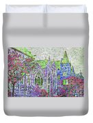Historic Churches St Louis Mo - Digital Effect 4 Duvet Cover