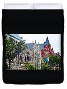 Historic Churches St. Louis Mo 1 Duvet Cover