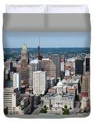 Historic City Centre Baltimore Duvet Cover