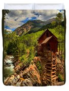 Historic Colorado Duvet Cover