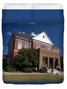 Historic Currituck Courthouse Duvet Cover