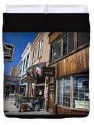 Historic Downtown Truckee California Duvet Cover