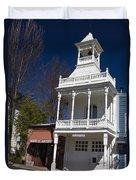 Historic Firehouse No. 1 Nevada City California Duvet Cover