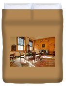 Historic Governor Council Chamber Duvet Cover