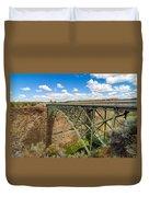 Historic Highway Bridge Duvet Cover