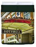 Historic Hotel Bothwell Duvet Cover