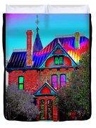 Historic House Pop Art Duvet Cover