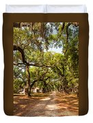 Historic Lane Duvet Cover by Steve Harrington
