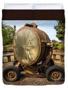 Historic Military Spotlight - Fort Stevens - Oregon Duvet Cover