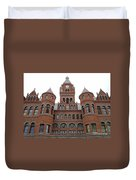 Historic Old Red Courthouse Dallas #1 Duvet Cover