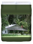Historic Overstreet Homestead Kissimmee Florida Duvet Cover