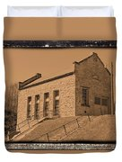 Historic Power Sepia Duvet Cover