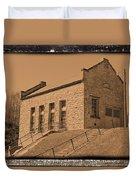 Historic Power Sepia Duvet Cover