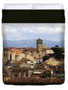 Historic Segovia Duvet Cover