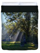 Historic Sibley Cemetery At Fort Osage Missouri Duvet Cover