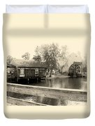 Historic Smithville Duvet Cover