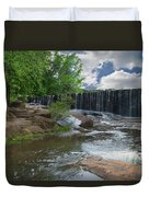 Historic Yates Mill Dam - Raleigh N C Duvet Cover