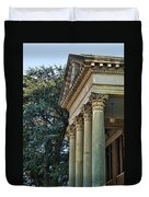 Historical Athens Alabama Courthouse Duvet Cover