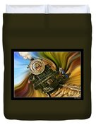 Historical Niles Southern Pacific 2472 Steam Engine 1921  Duvet Cover