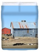 Hitching The Wagon Duvet Cover
