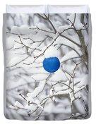 Hl03311chrstmsbll.tif Duvet Cover