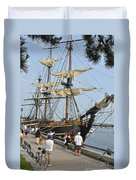 Hms Bounty Newburyport Duvet Cover