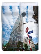 Ho Chi Minh City - Bitexco Financial Tower  Duvet Cover