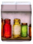 Hobby - Jars - I'm A Jar-aholic  Duvet Cover