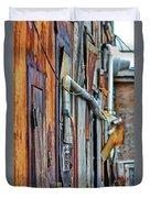 Hoboken After Sandy Duvet Cover