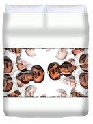 Hofner Bass Abstract Duvet Cover