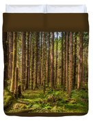 Hoh Rain Forest Duvet Cover