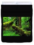 Hoh Rainforest Duvet Cover