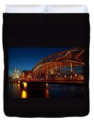 Hohenzollern Bridge Duvet Cover