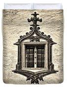 Hohes Schloss Window Duvet Cover