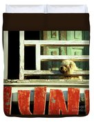 Hoi An Dog 02 Duvet Cover