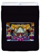 Hoi Thanh Buddhist Temple Duvet Cover