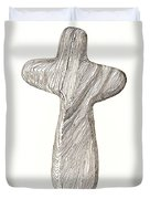 Holding Cross Duvet Cover