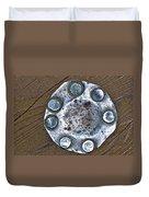 Hole Patch John Muir Woods Duvet Cover