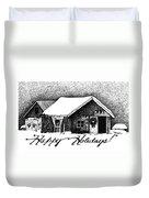 Holiday Barn Duvet Cover