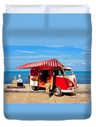Holiday By The Seaside Duvet Cover