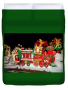 Holiday Express Duvet Cover