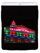 Holiday Lights 2012 Denver City And County Building L1 Duvet Cover