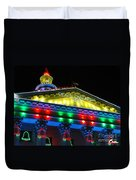 Holiday Lights 2012 Denver City And County Building L5 Duvet Cover